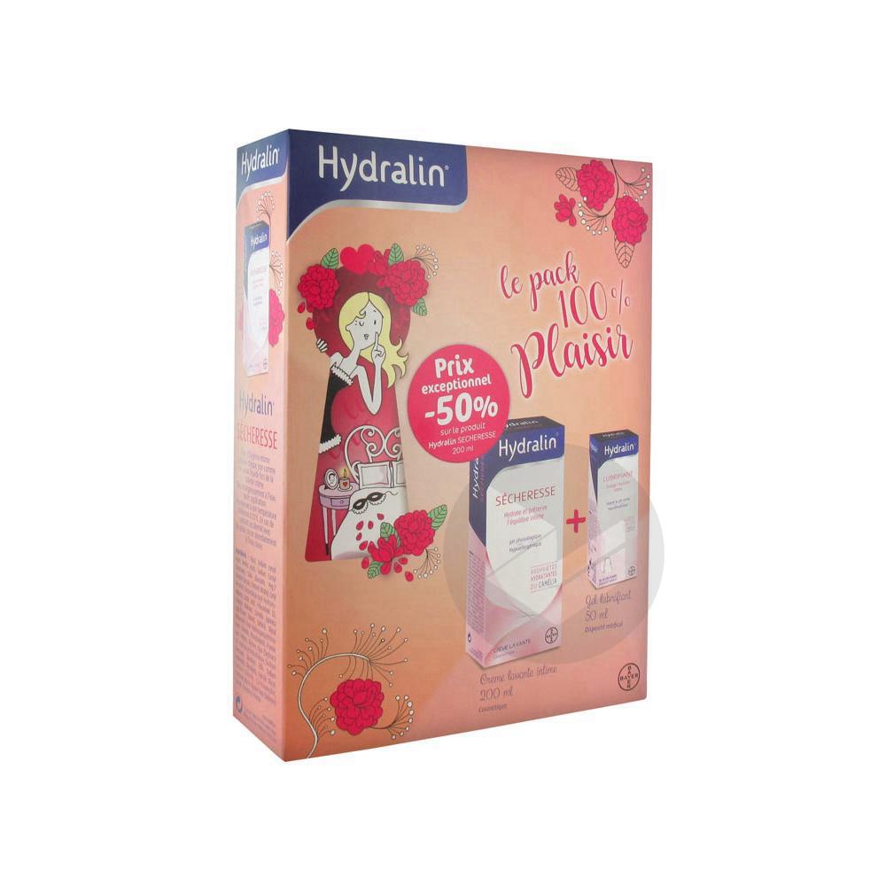 Hydralin Sécheresse Crème Lavante Intime 200 ml + Lubrifiant Gel Lubrifiant 50 ml
