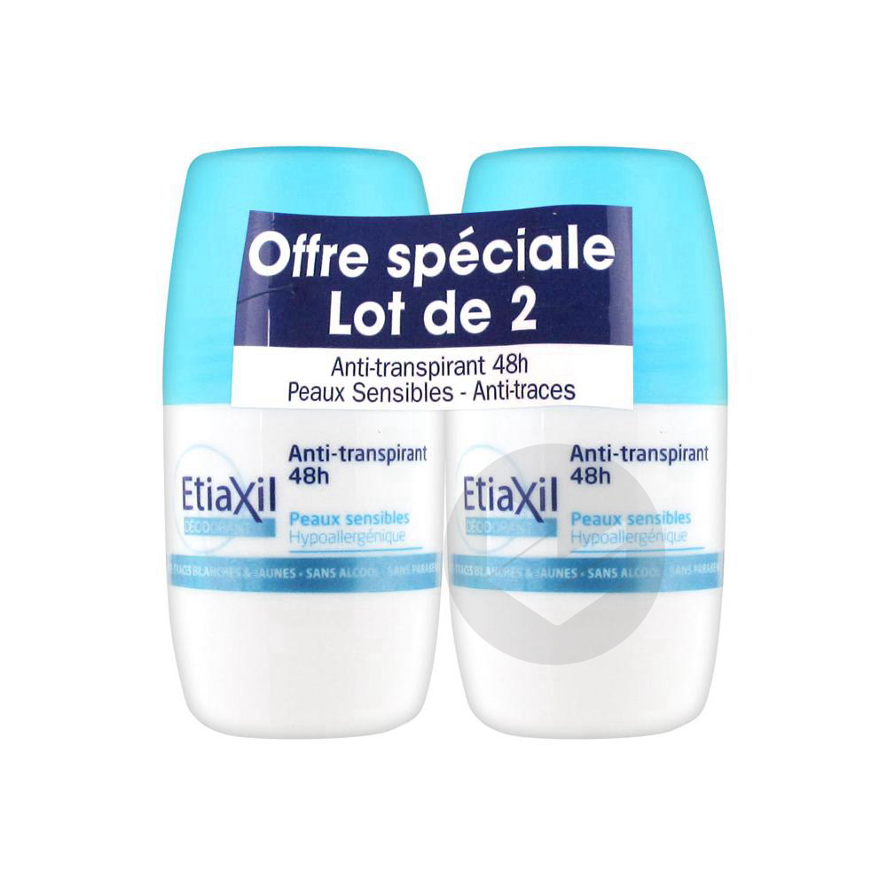 Antitranspirant Deodorant 48 H 2 Roll On 50 Ml
