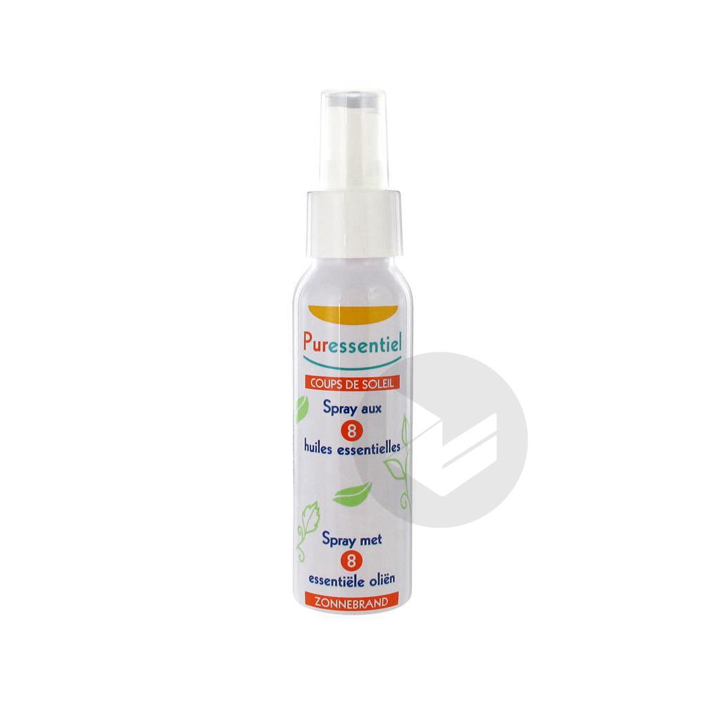 Hygiene Beaute Spray Coups De Soleil 8 Huiles Essentielles Fl 75 Ml