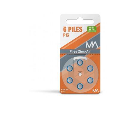 Piles P 13 Plaquette De 6