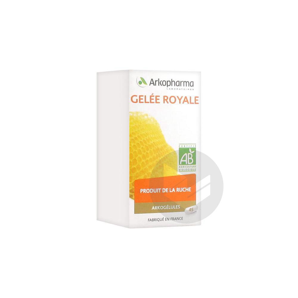 Arkogelules Gelee Royale Bio 45 Gelules