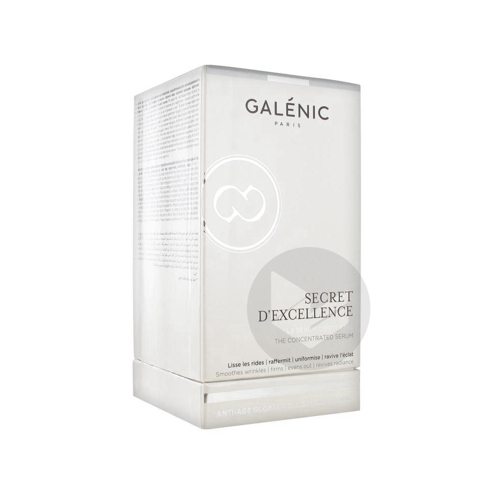 GALENIC SECRET D'EXCELLENCE Sérum Fl airless/30ml