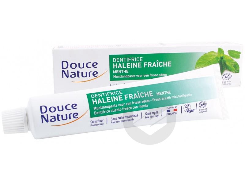 Dentifrice haleine fraîche à la menthe Bio - 75 ml