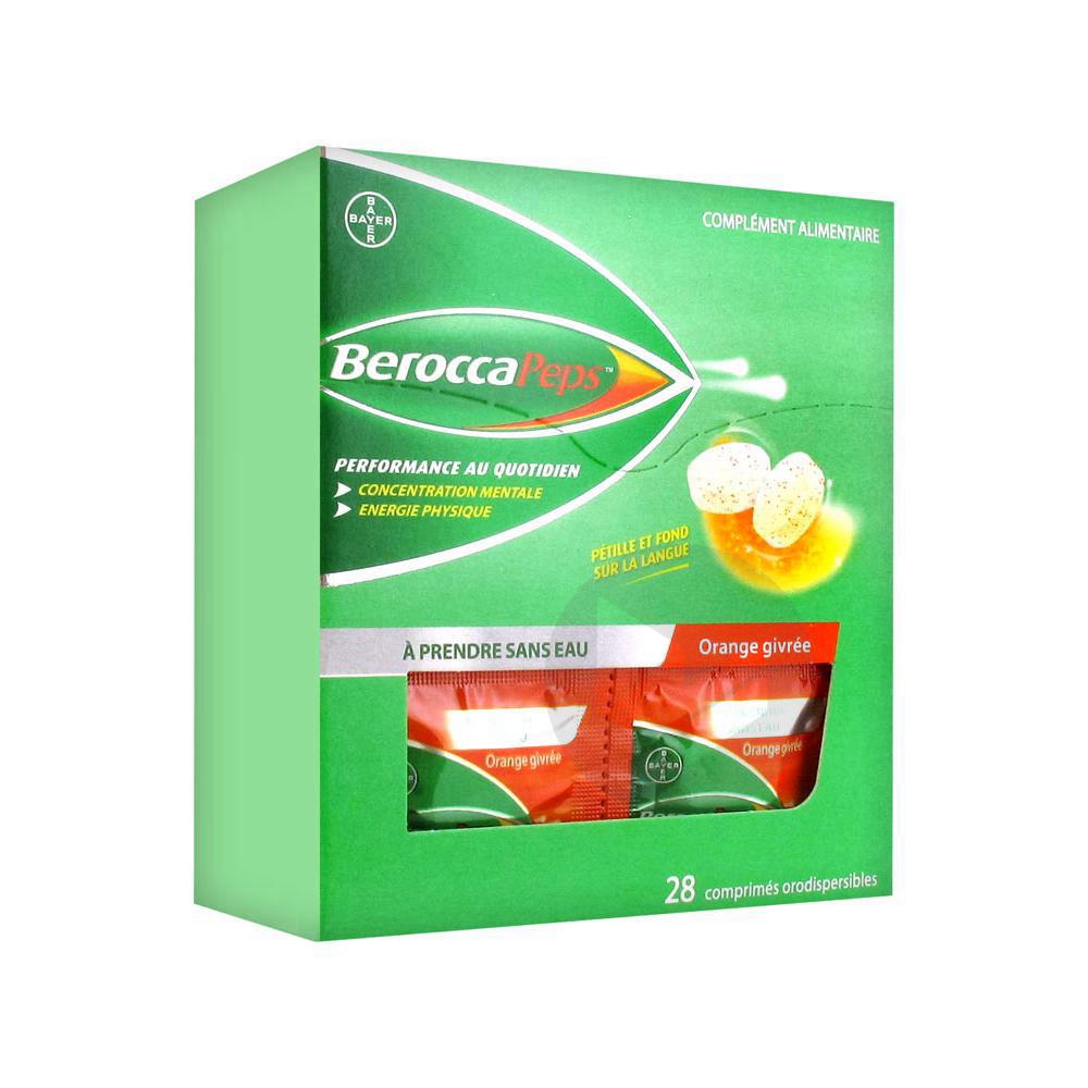 Berocca -2€ sur toute la gamme
