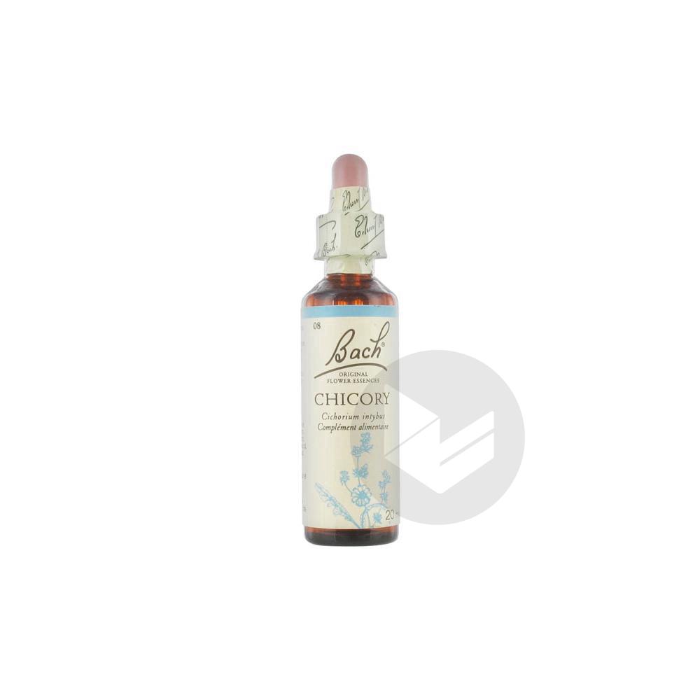 Chicory Elixir Floral Fl Cpte Gttes 20 Ml