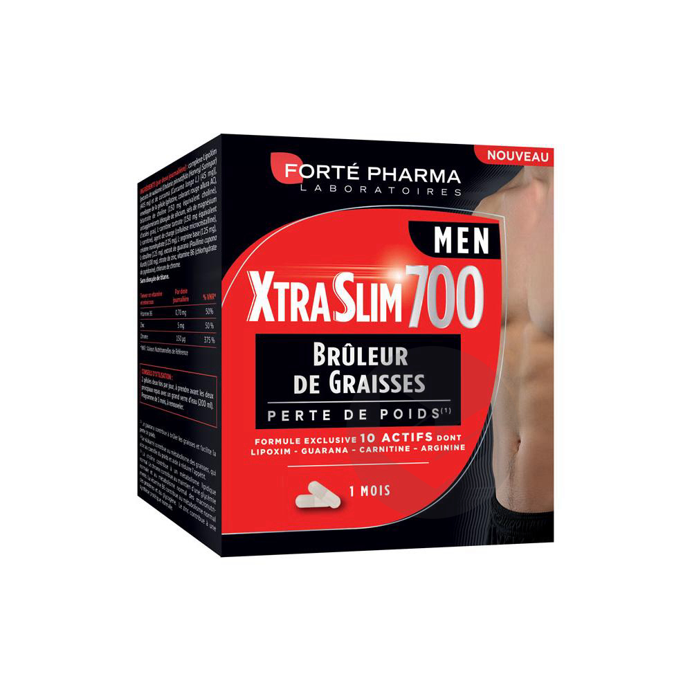 Forte Pharma Xtra Slim 700 Men 120 Gelules