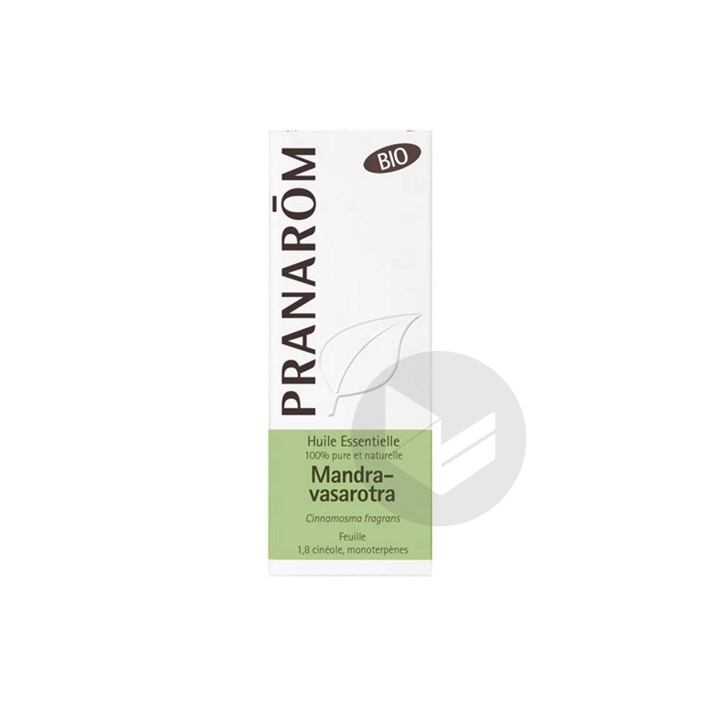 PRANAROM Huile essentielle bio Mandravasarotra Fl/10ml