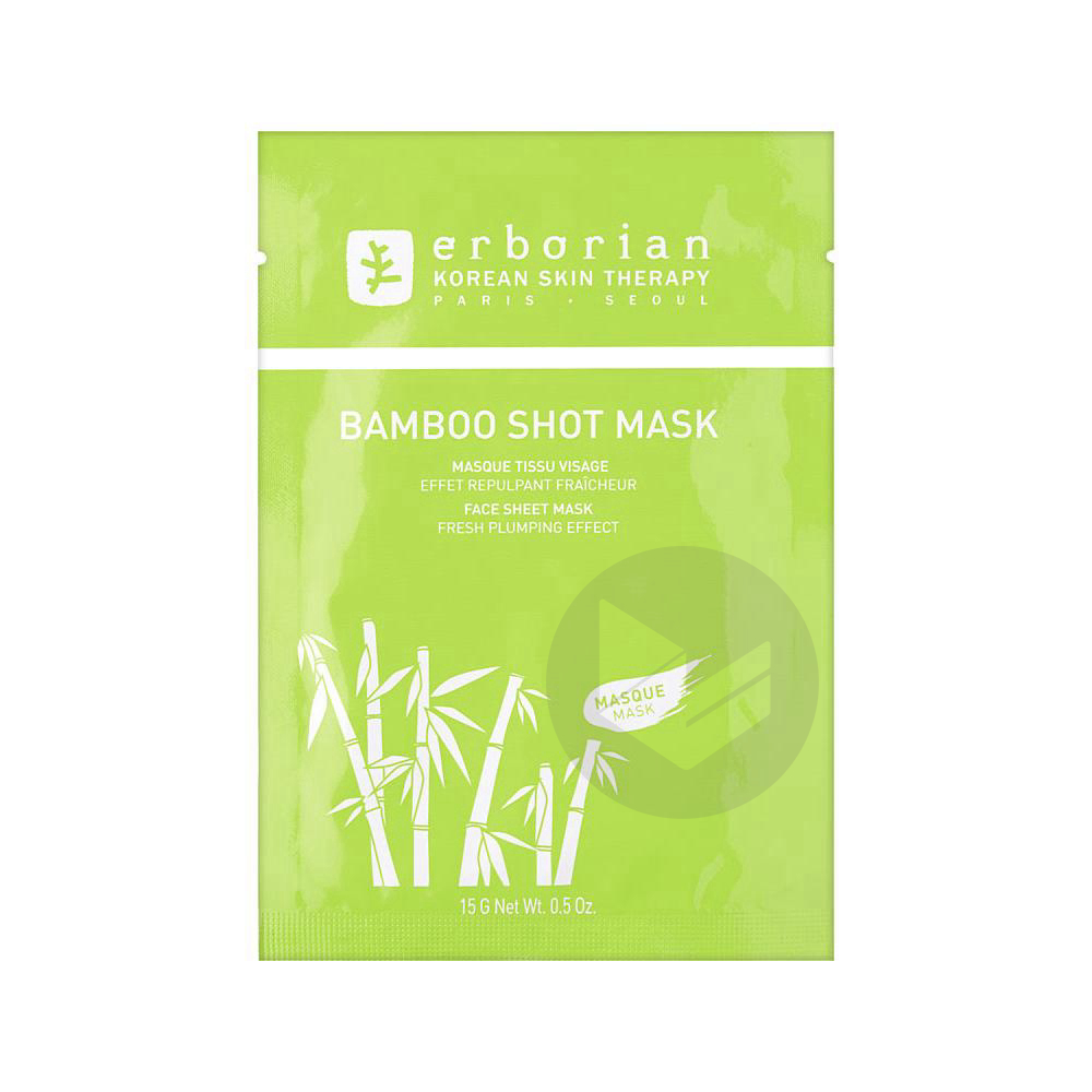Bamboo Shot Mask Masque Sach 15 G