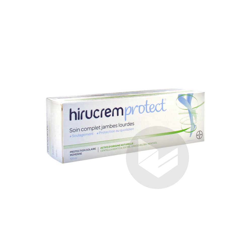 HIRUCREMPROTECT Cr soin complet jambes lourdes T/100g