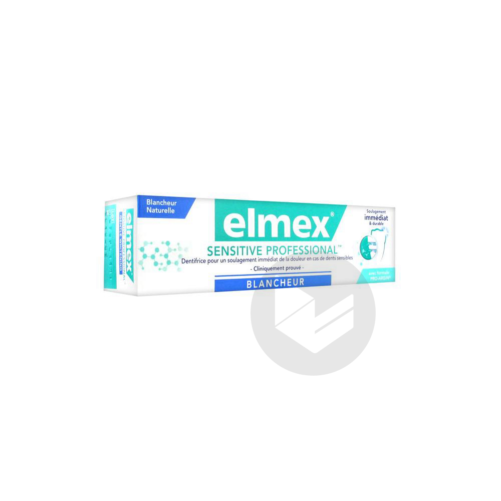Sensitive Professional Blancheur Pate Dentifrice T 75 Ml