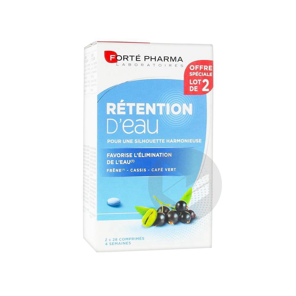 Forté Pharma Minceur Rétention d'Eau 45+ Lot de 2 x 28 Comprimés