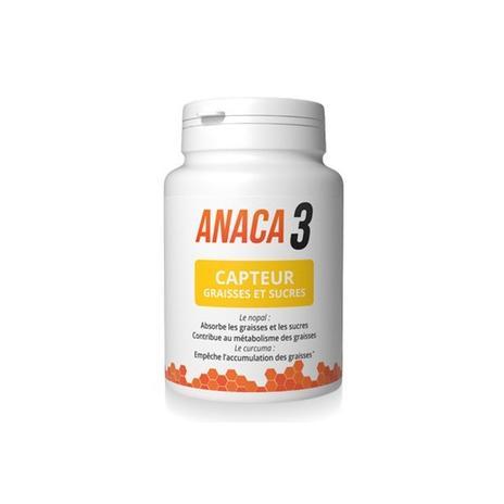 Anaca 3 Capteur Graisses Et Sucres Gel Pilulier 60