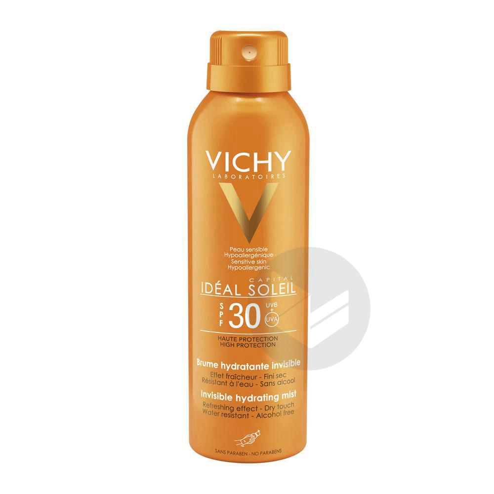 VICHY IDEAL SOLEIL SPF30 Brume hydratante Spray/200ml