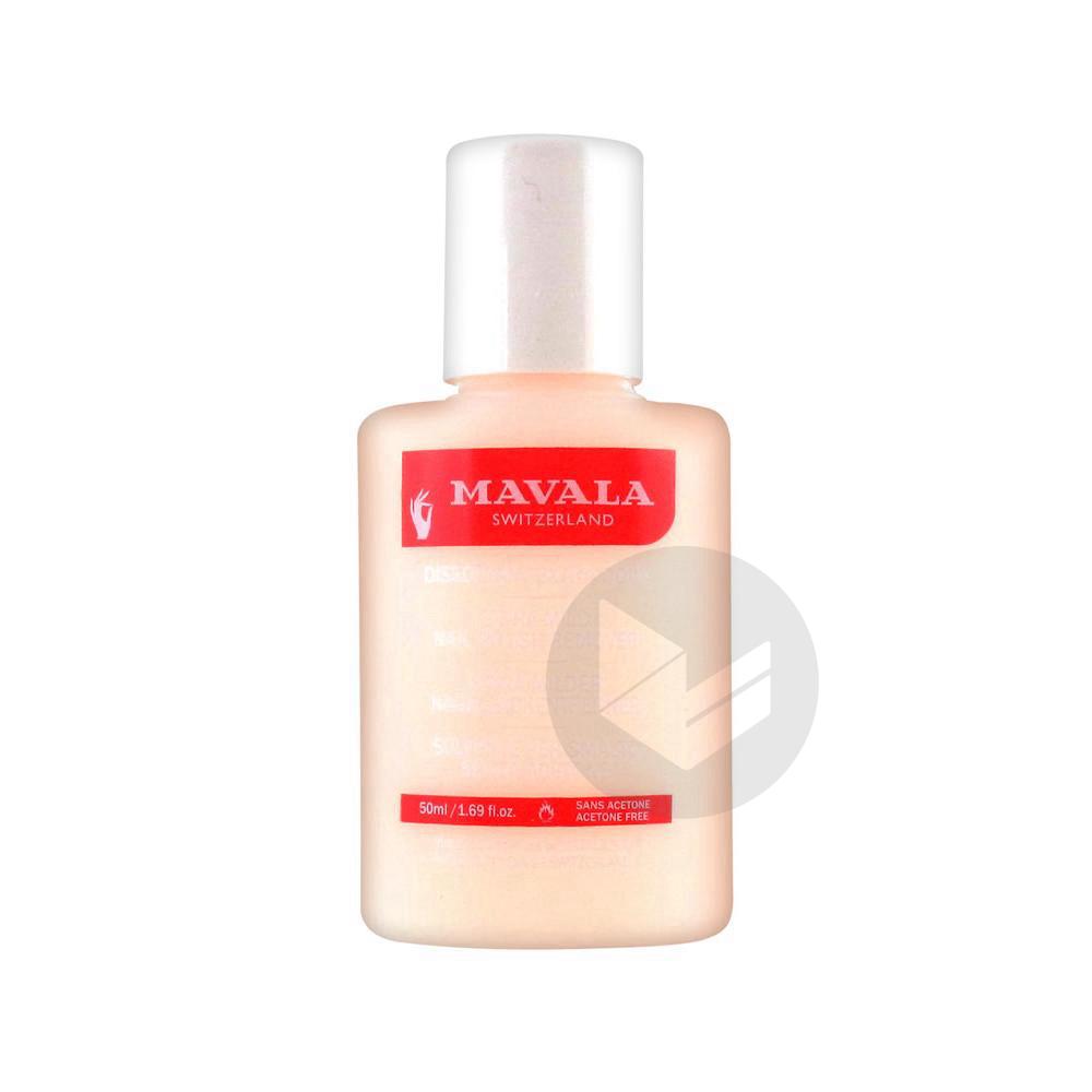 Manucure Dissolvant Sans Acetone Rose Fl Plast 50 Ml