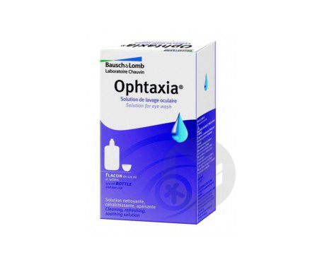 Ophtaxia Sol Lav Oculaire 120 Ml
