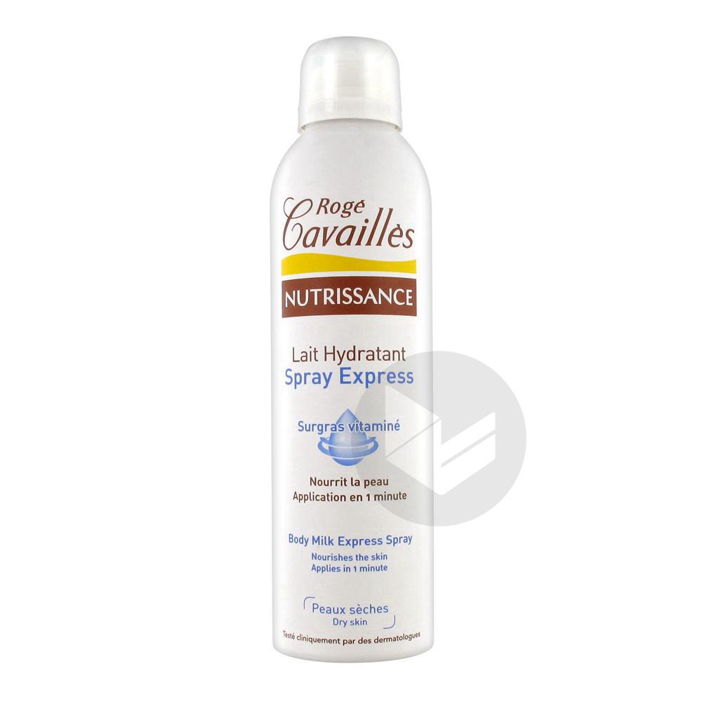 ROGE CAVAILLES NUTRISSANCE Lait corps hydratant Spray express/200ml
