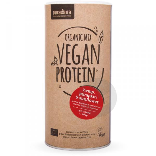 Mix de protéines de graines au cacao Bio - 400 g
