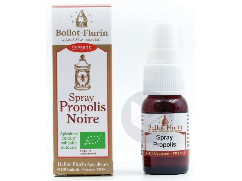 Spray propolis noire Française - 15 ml