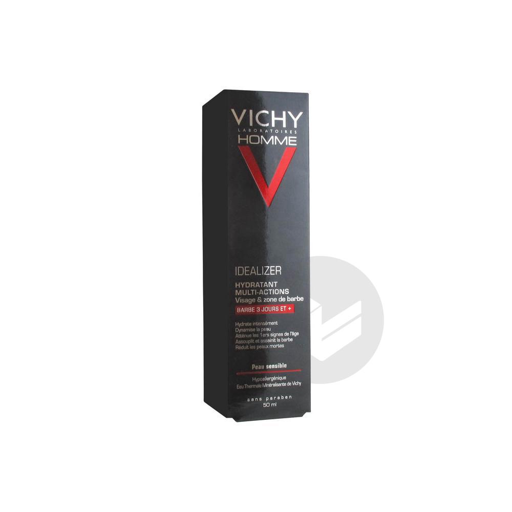 VICHY HOMME IDEALIZER Cr barbe Fl pompe/50ml