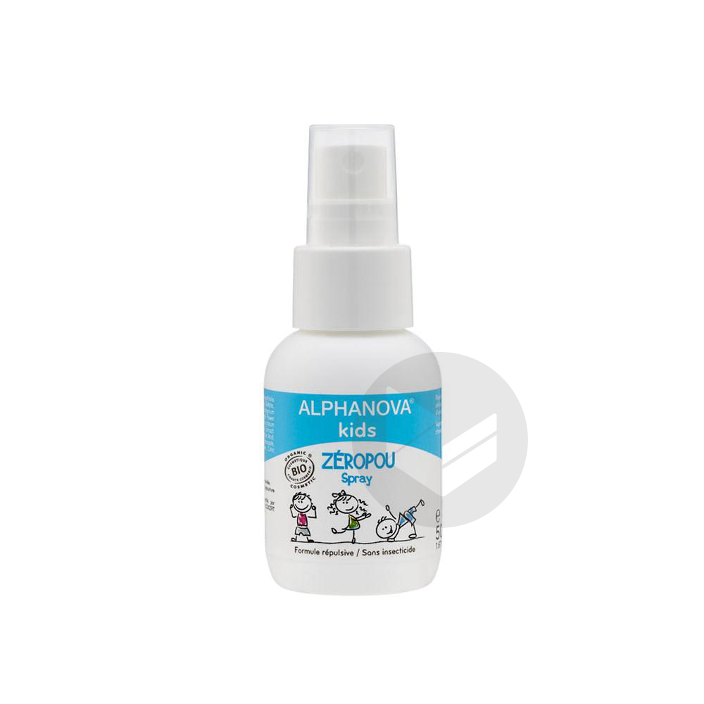 Kids Zeropou Spray Fl 50 Ml