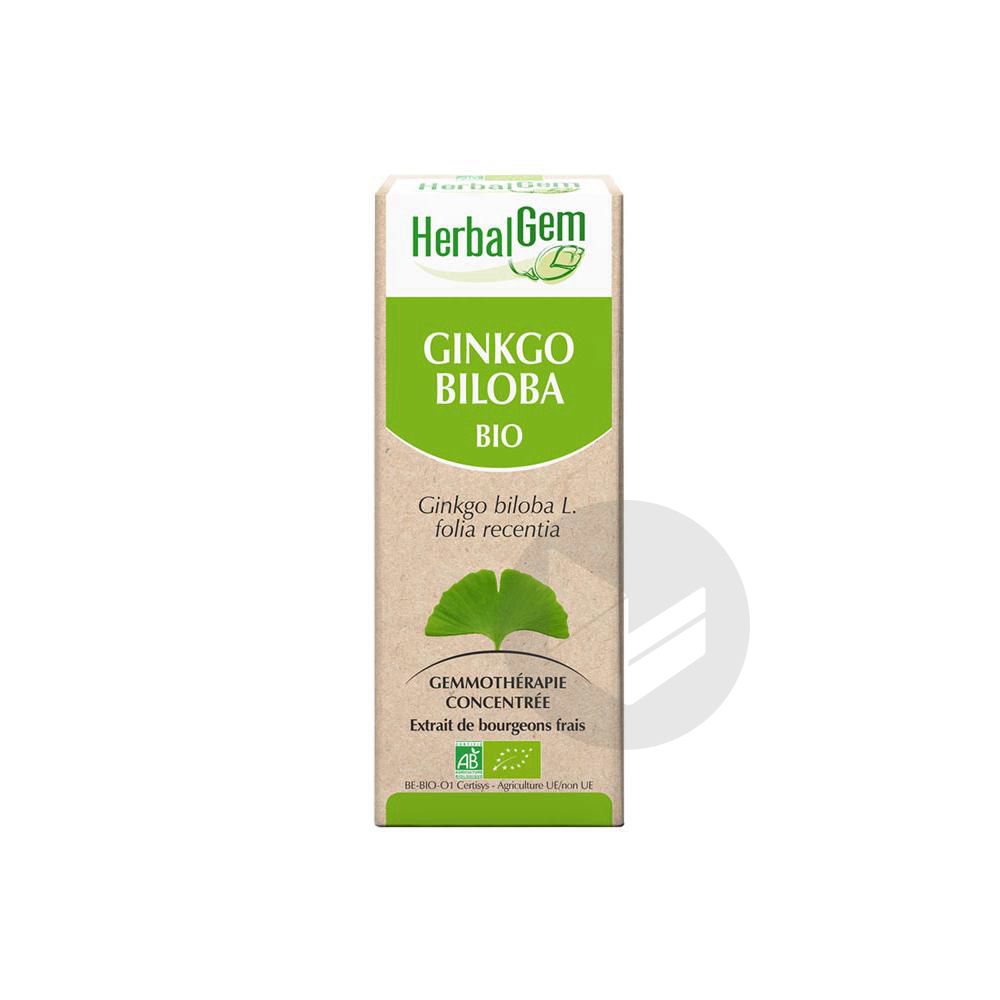 HerbalGem Bio Ginkgo Biloba 30 ml