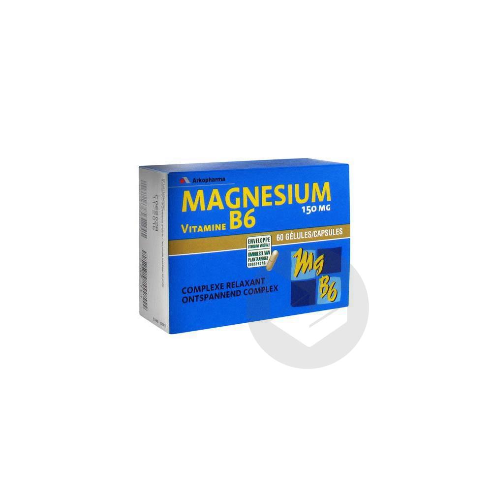 Arkovital Magnesium Vitamine B 6 Gel B 60