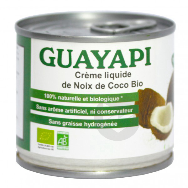 Crème de Noix de Coco Bio - 200 ml