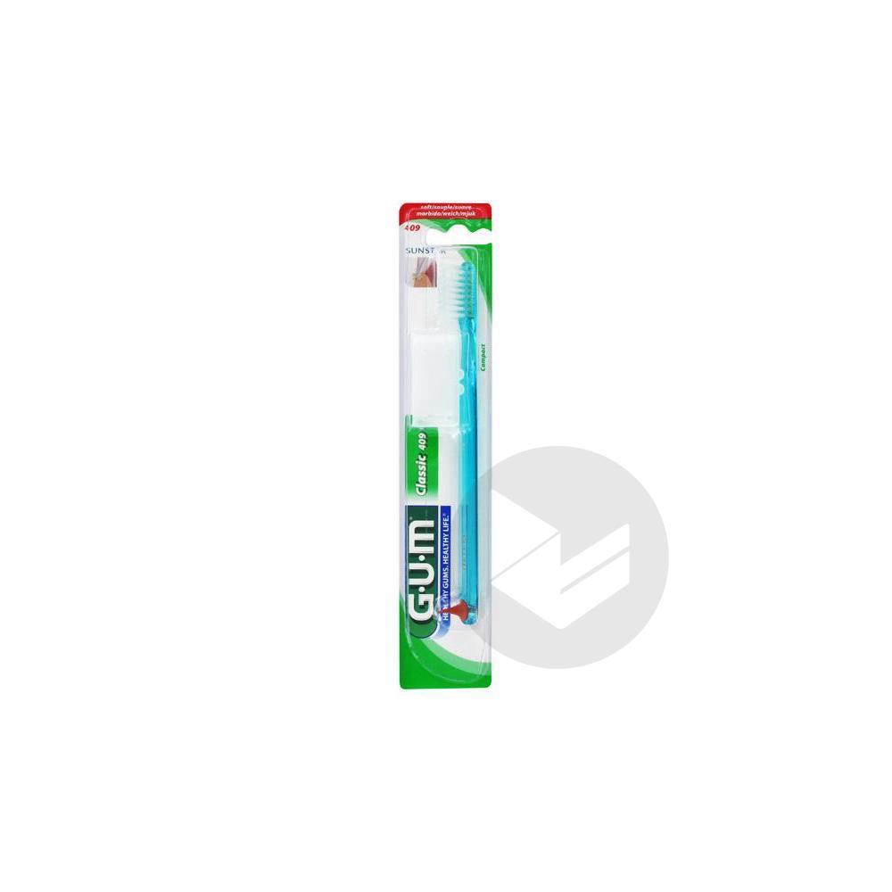 BUTLER GUM 409 Brosse dents compacte 4 rangs adulte