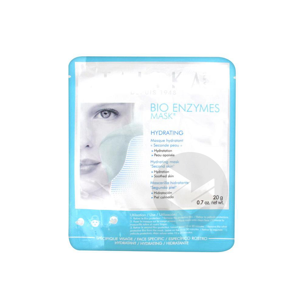 Bio Enzymes Mask Masque Hydratant Seconde Peau
