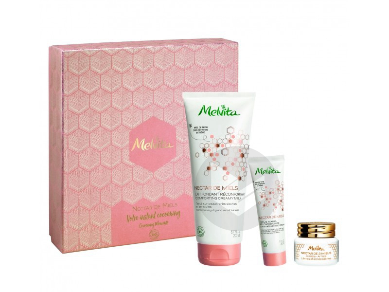 Coffret Nectar De Miel Bio 3 Produits