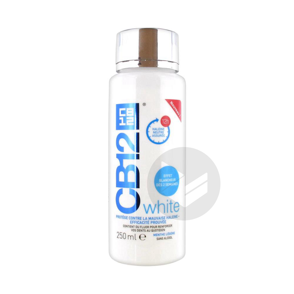 Cb 12 White Bain Bouche Fl 250 Ml