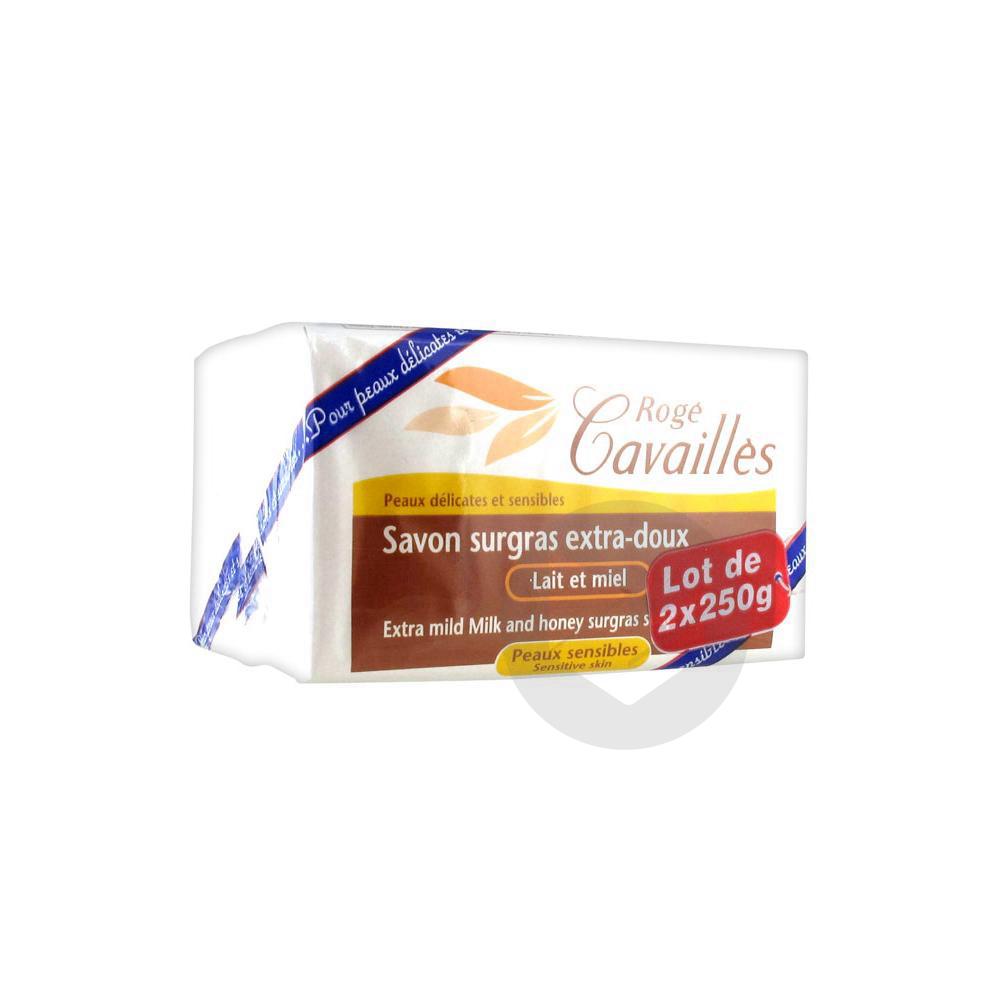 Roge Cavailles Sav Surgras Extra Doux Lait Et Miel 2 X 250 G