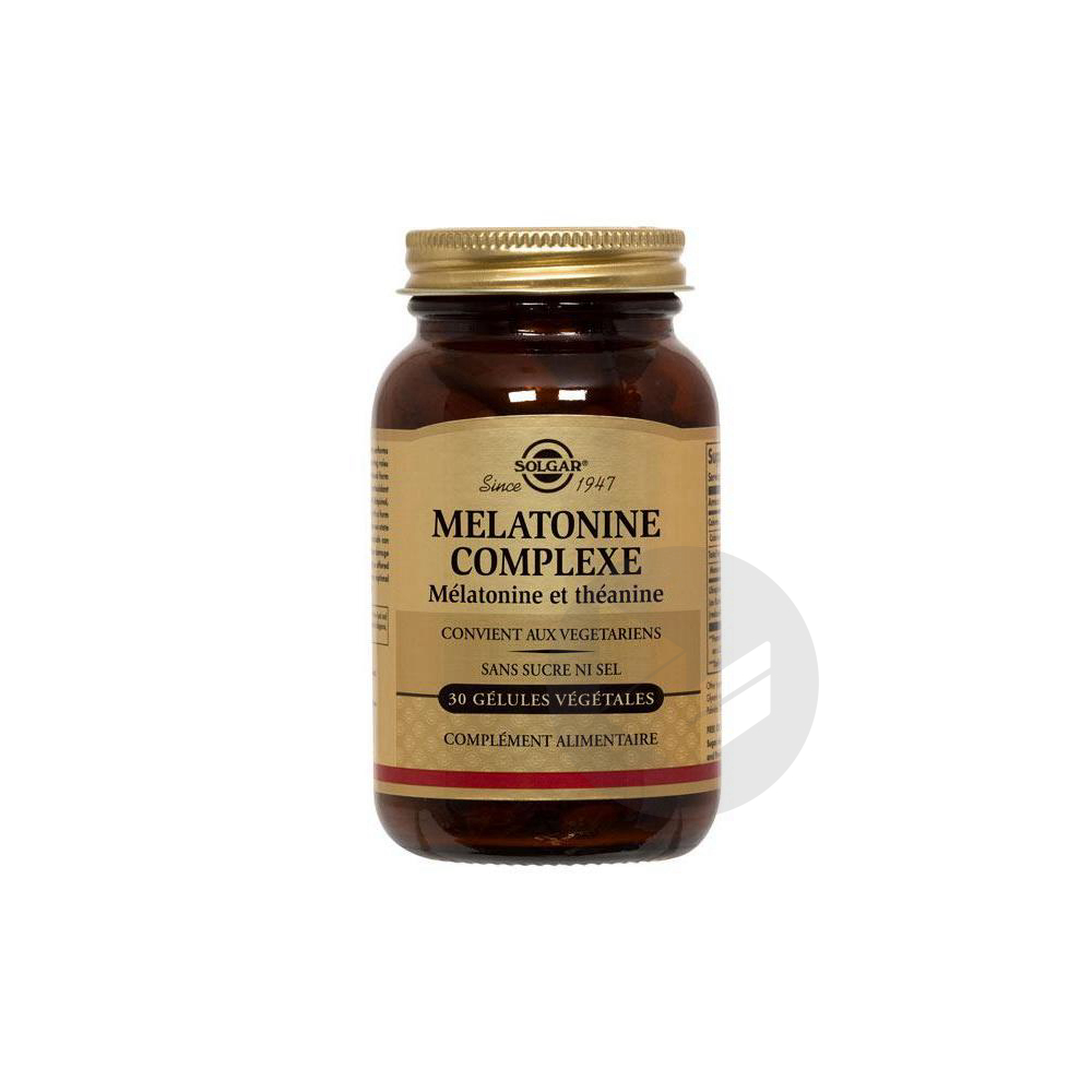 Melatonine Complexe Gel Pot 30