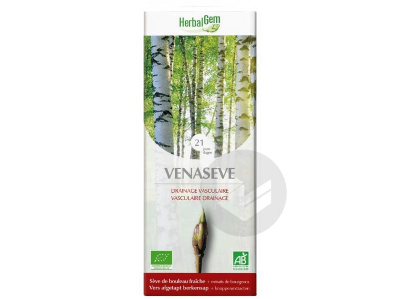 HerbalGem Venaseve Drainage Vasculaire Bio 250 ml