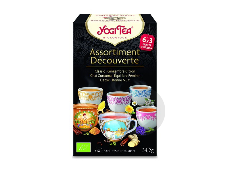 Assortiment Decouverte 6 X 3 Sachets