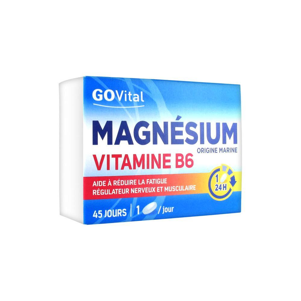GOVITAL Magnésium Vitamine B6 Cpr B/45