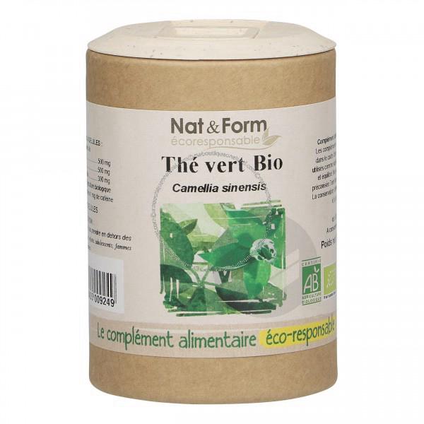 Thé vert Bio Eco-responsable - 90 gélules