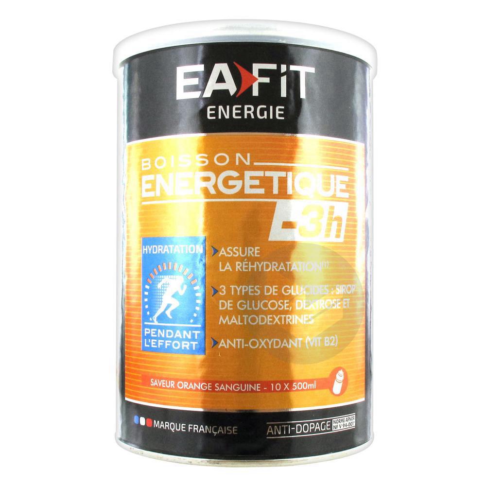 EAFIT ENERGIE Pdr pour boisson énergétique -3H orange sanguine Pot/500g
