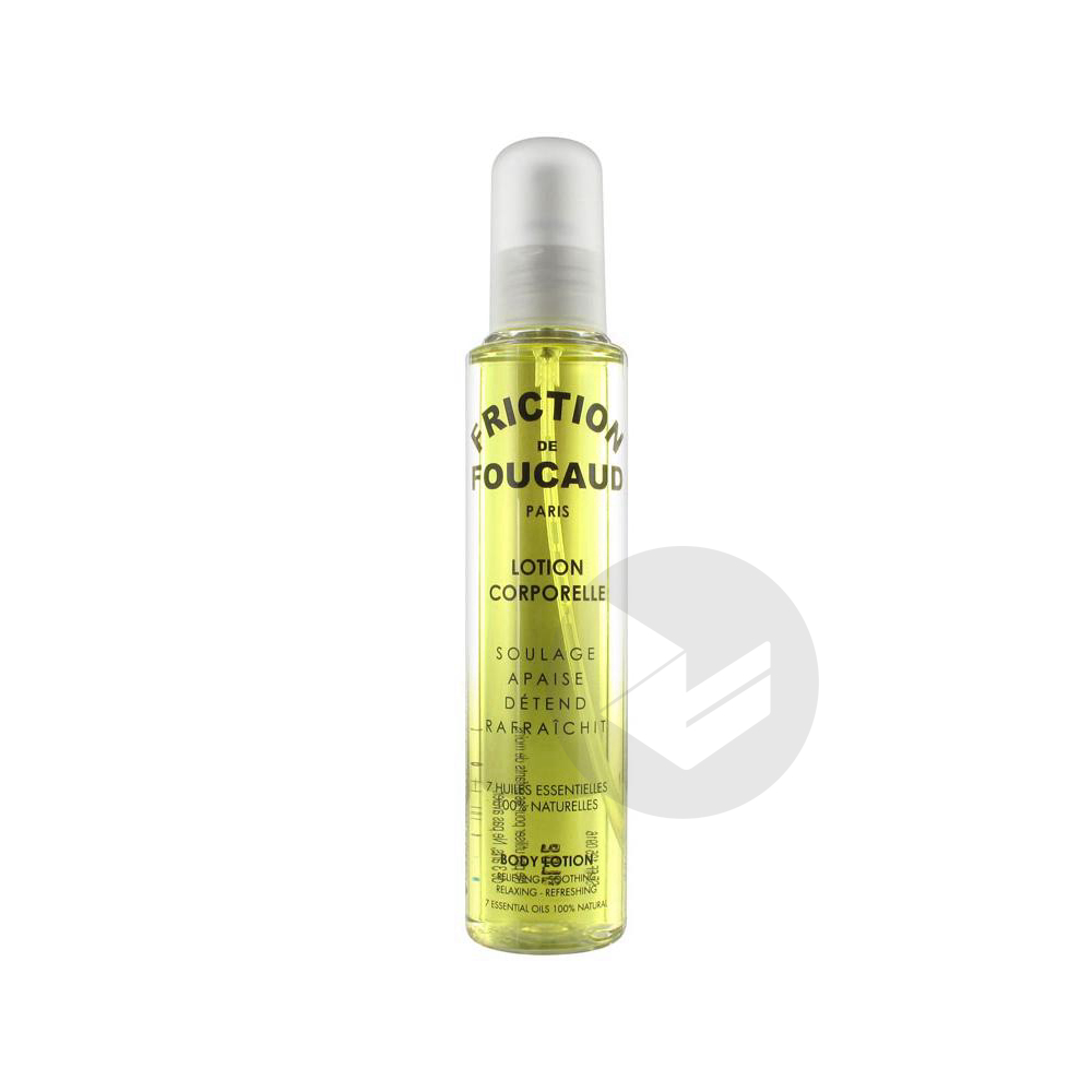 Friction De Lotion Energisante Corps Spray 125 Ml