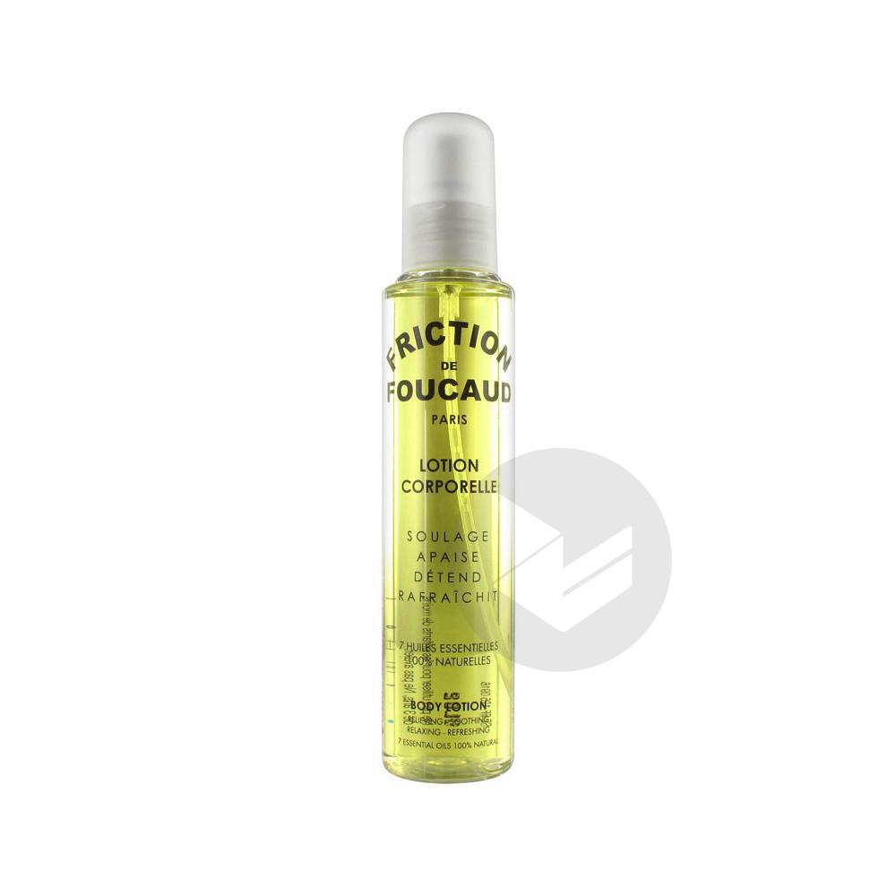 Friction de Foucaud Lotion Energisante Corps Spray 125 ml