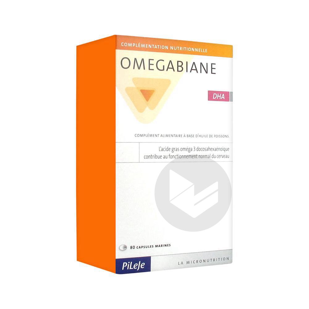 Omegabiane Huile Dha Caps B 80