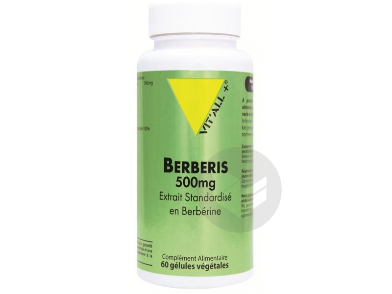 Berberis 500 mg extrait standardisé - 60 gélules