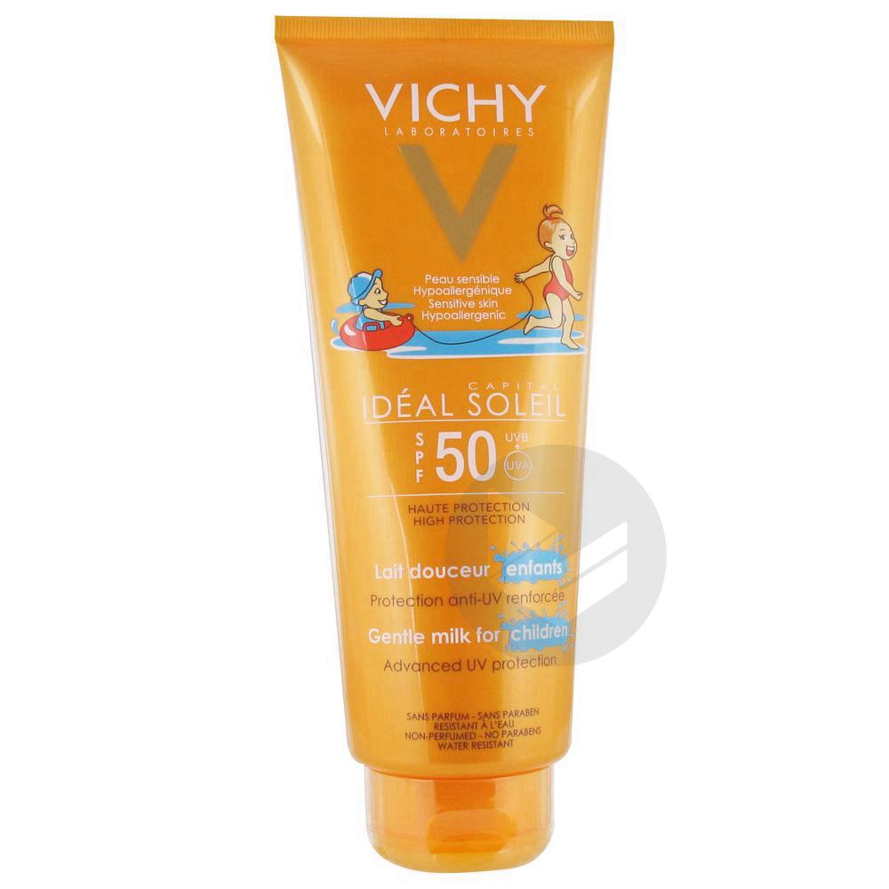 VICHY IDEAL SOLEIL SPF50+ Lait visage et corps enfant T/300ml