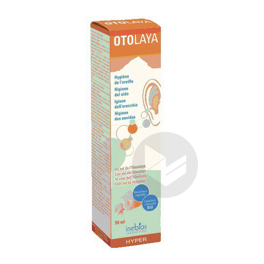 Otolaya Spray Hygiene Auriculaire 50 Ml