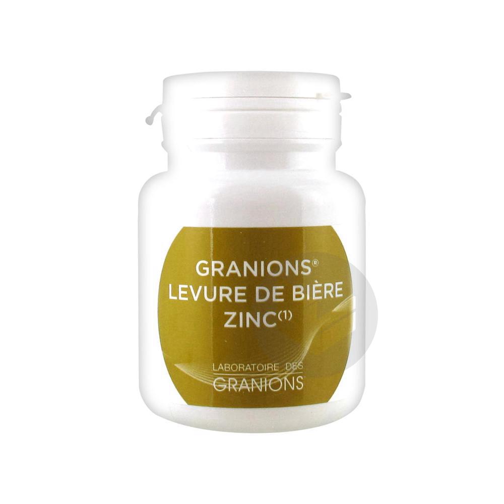 GRANIONS LEVURE DE BIERE ZINC Gél B/60