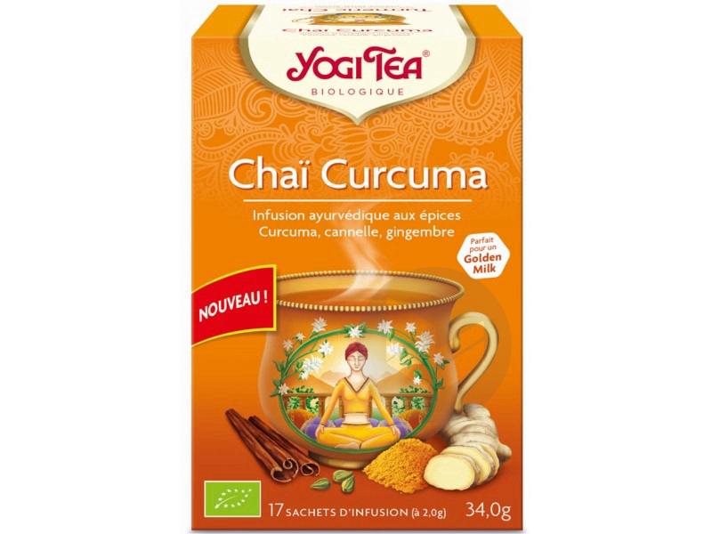 Chai Curcuma 17 Sachets