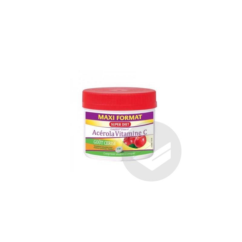 Acerola Vitamine C 500 90 Comprimes