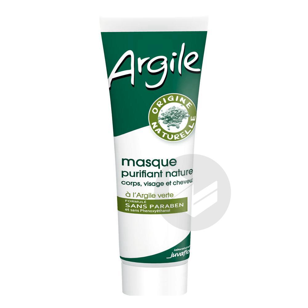 Juvaflorine Masque Purifiant Naturel A L Argile Verte 300 G