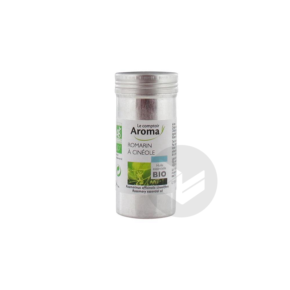 Le Comptoir Aroma Huile Essentielle Bio Romarin à Cinéole 10 ml