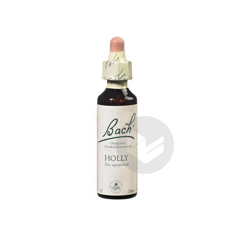 Holly Elixir Floral Fl Cpte Gttes 20 Ml